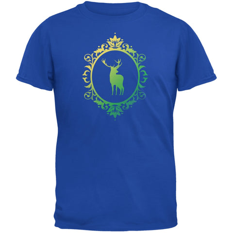 Deer Silhouette Royal Youth T-Shirt