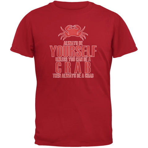 Always Be Yourself Crab Red Youth T-Shirt