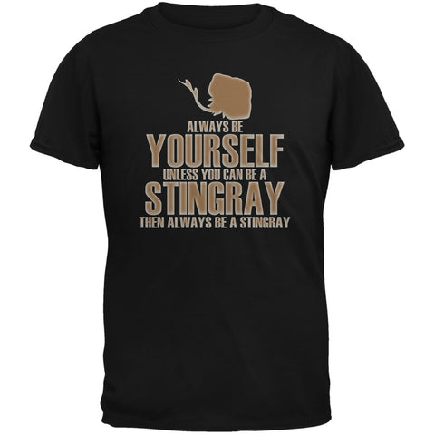 Always Be Yourself Stingray Black Youth T-Shirt