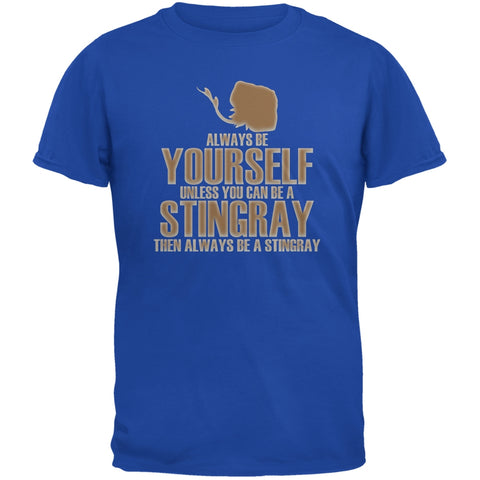 Always Be Yourself Stingray Royal Youth T-Shirt