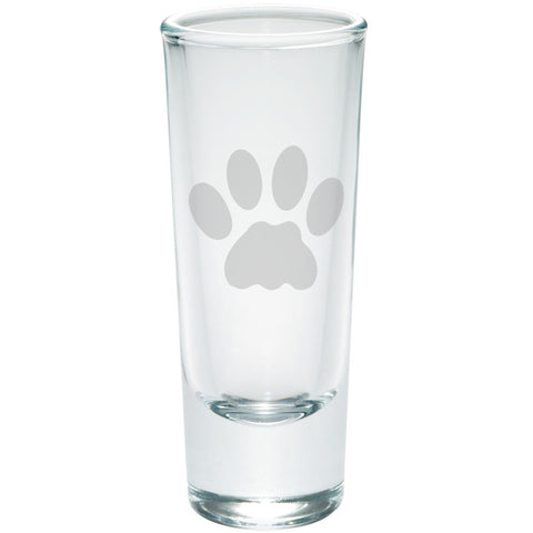 Cat Paw Etched Shot Glass Shooter