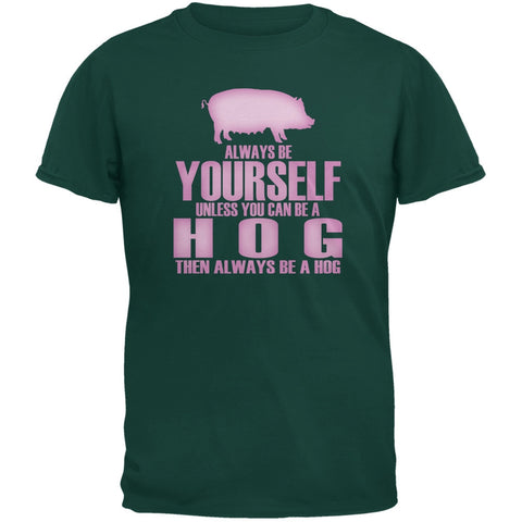 Always Be Yourself Hog Forest Green Youth T-Shirt