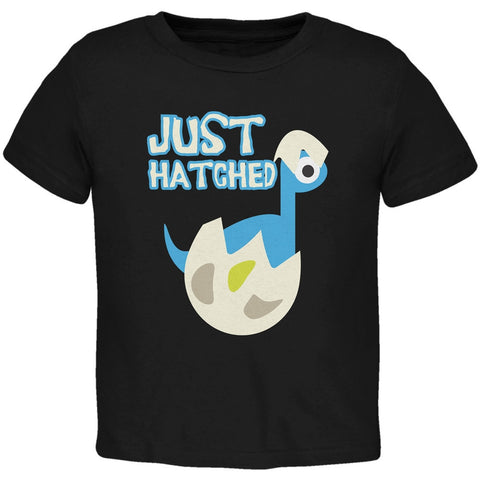 Just Hatched Baby Boy Black Toddler T-Shirt