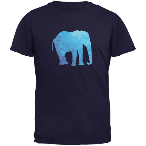 African Spirit Animal Elephant Navy Youth T-Shirt