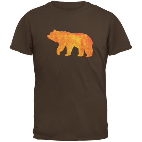 Native American Spirit Bear Brown Youth T-Shirt