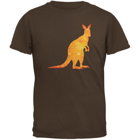 Australian Spirit Animal Kangaroo Brown Youth T-Shirt