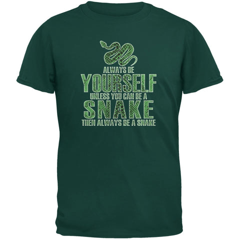 Always Be Yourself Snake Forest Green Youth T-Shirt