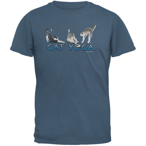 Cat Yoga Adult T-Shirt