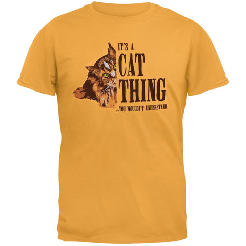 A Cat Thing Adult T-Shirt