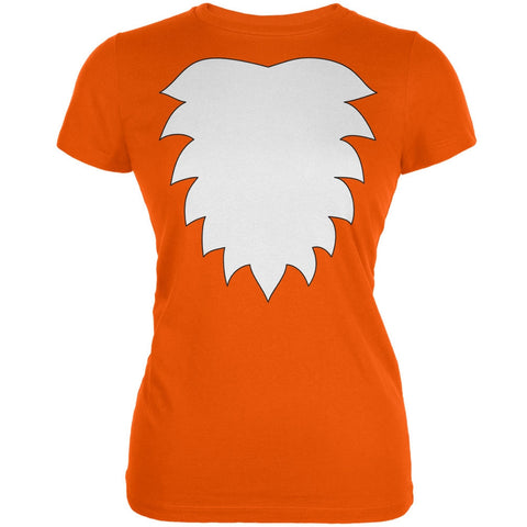 Fox Costume Orange Juniors Soft T-Shirt