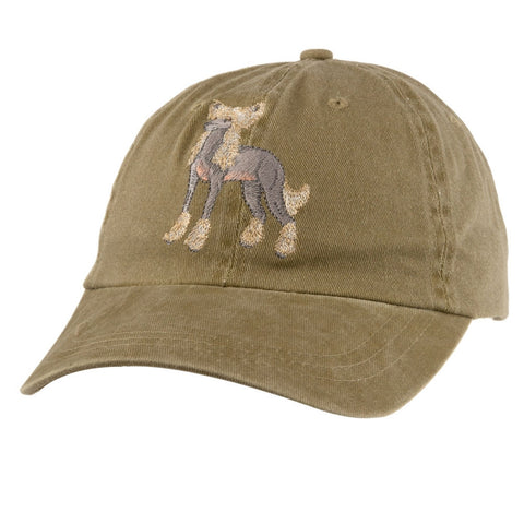 Chinese Crested Adjustable Baseball Cap