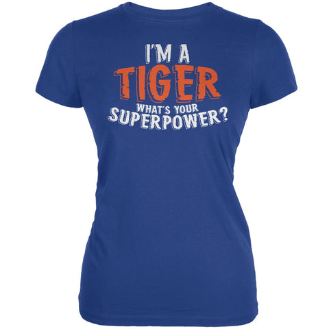 I'm A Tiger What's Your Superpower Royal Juniors Soft T-Shirt