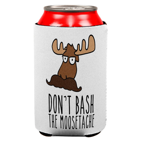 Don't Bash the Moostache All Over Can Cooler