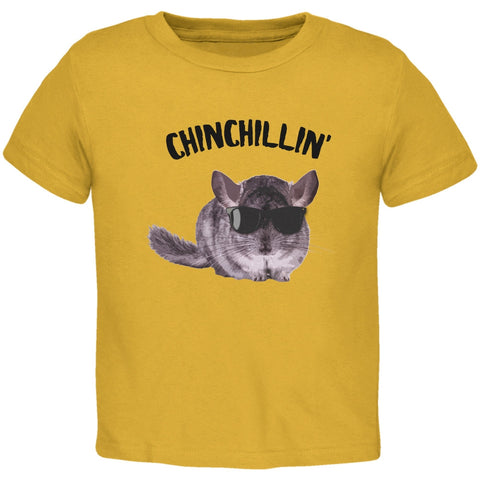 Chinchillin Chinchilla Gold Toddler T-Shirt