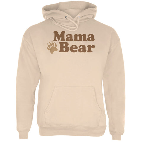 Mothers Day - Mama Bear Sand Adult Hoodie