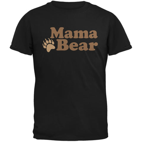 Mothers Day - Mama Bear Black Adult T-Shirt