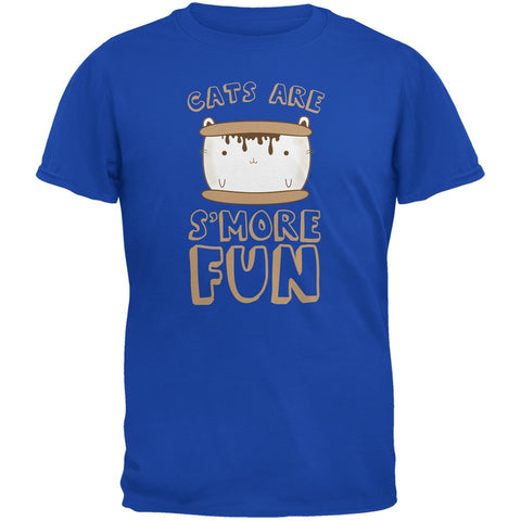 Cats Are S'More Fun Royal Youth T-Shirt