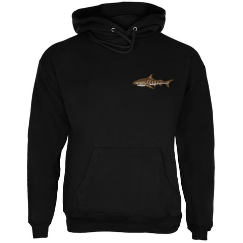 Tiger Shark Black Adult Hoodie