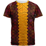 Halloween Red Dragon Costume All Over Adult T-Shirt