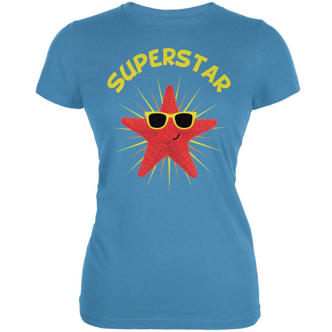 Starfish Superstar Aqua Juniors Soft T-Shirt