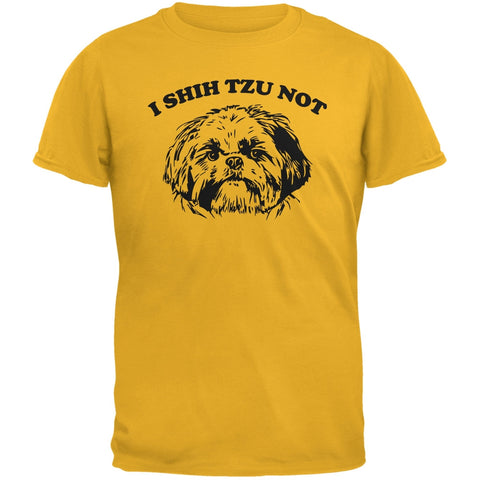 I Shih Tzu Not Gold Adult T-Shirt