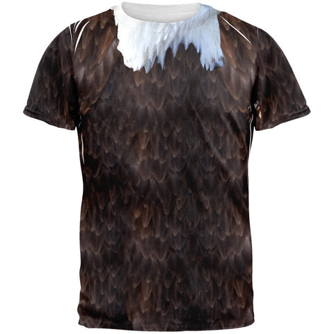 Halloween Bald Eagle Costume All Over Adult T-Shirt