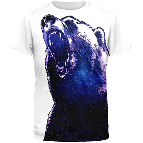 Galaxy Bear All Over Adult T-Shirt