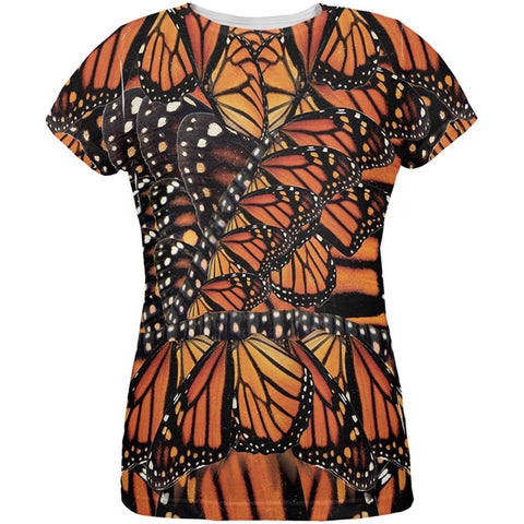 Monarch Butterfly Costume All Over Womens T-Shirt