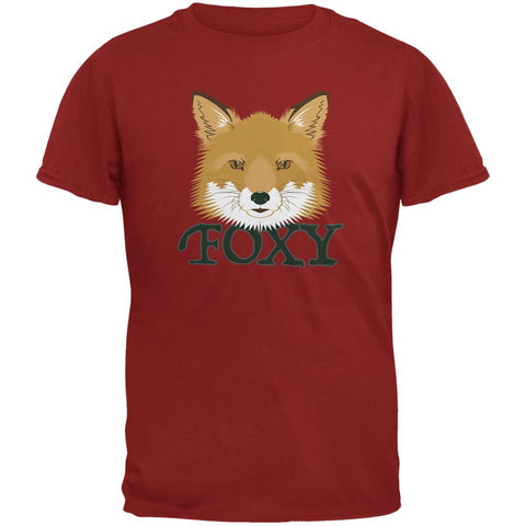 Foxy Cardinal Red Adult T-Shirt