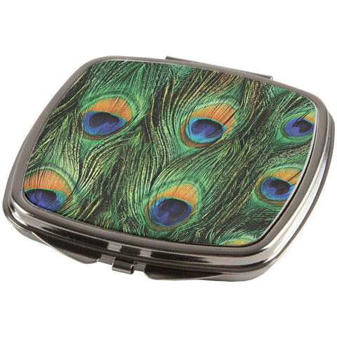 Peacock Feathers Compact