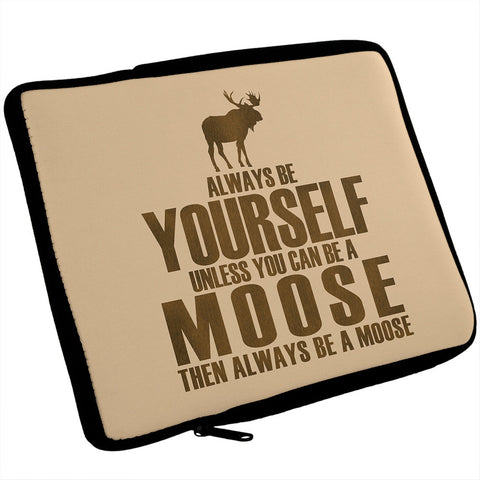 Always Be Yourself Moose iPad Tablet Sleeve