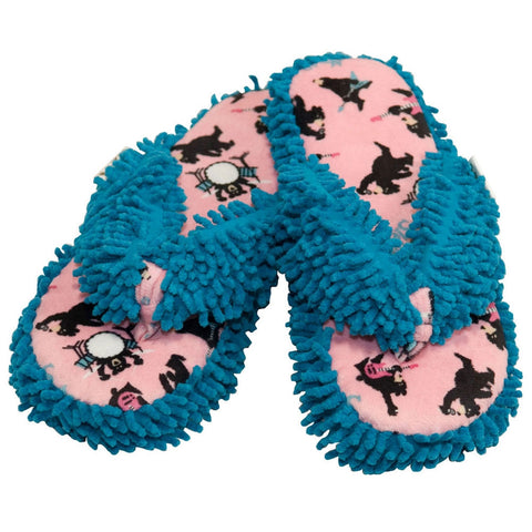 Rock Me to Sleep Bear Women's Spa Slippers