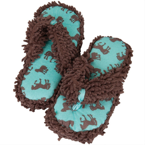 Horse Filly All-Over Women's Spa Slippers