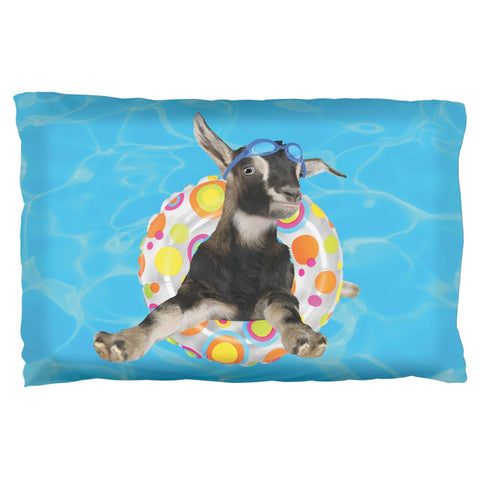 Whatever Floats Your Goat Pillow Case