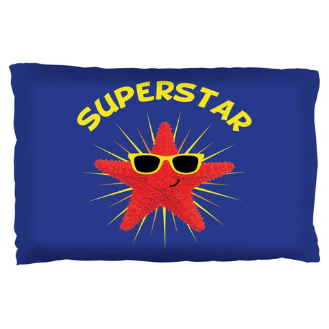 Starfish Superstar Pillow Case