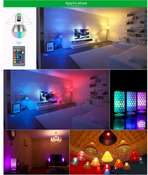 Romantic 16 Colors RGB Bulb