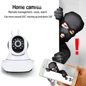 IP Wireless Home Security Camera WiFi - Mountable Full Color Motion Detection 1080p Full HD Indoor Dome Surveillance Camera - Night Vision Two Way Audio, Video Baby Monitor System