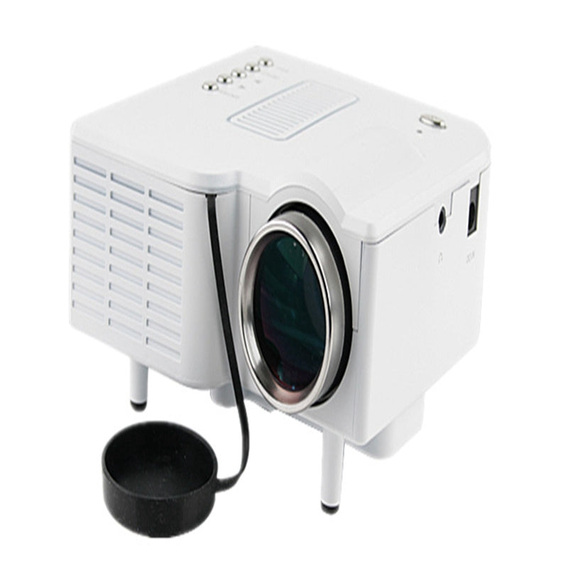 UC28 Projector Mini Portable LED 400 Lumens 1080P HD Home Theater Cinema Projectors