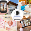 Wireless Home Security WIFI Audio video Baby Monitor Camera