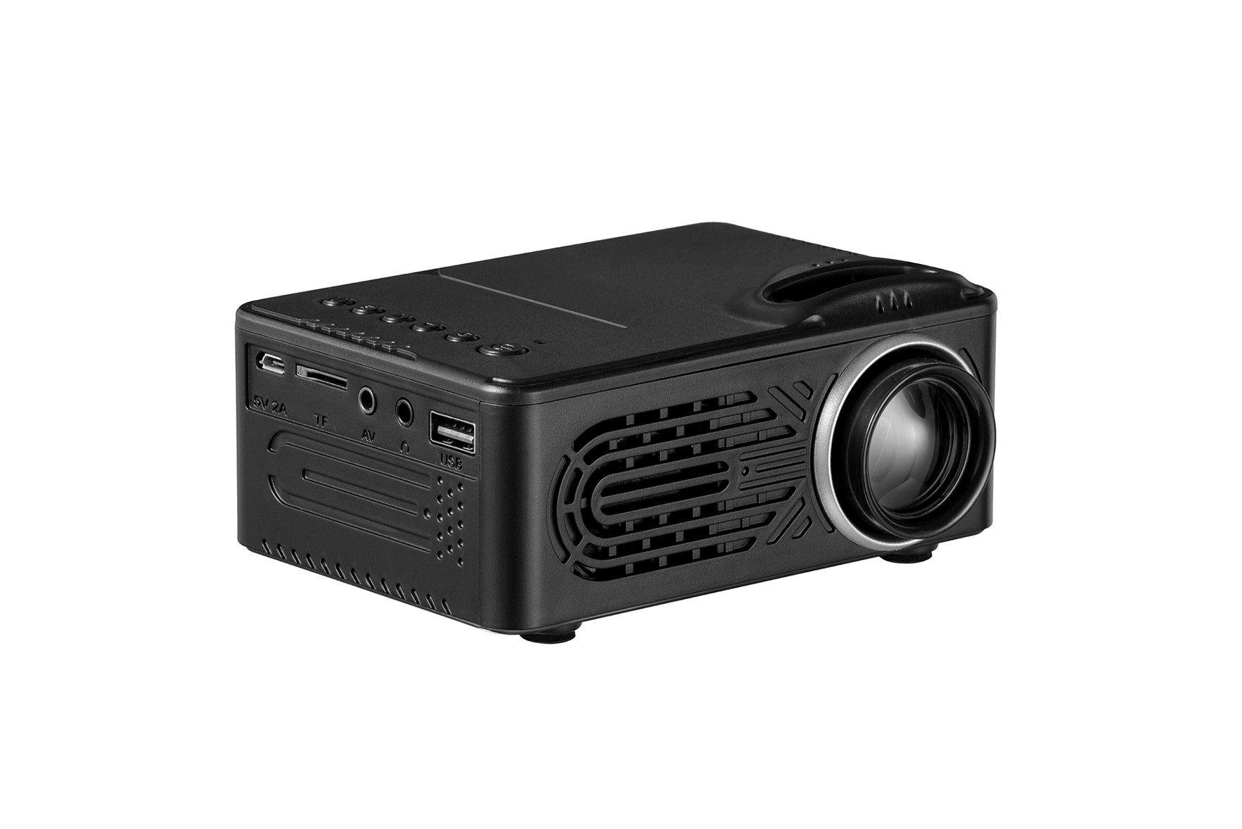 LCD Mini Projector Black
