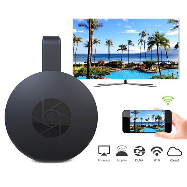 WiFi Display Dongle Media Streamer for Google Chromecast 2 Audio HDMI Crome Chrome Cast