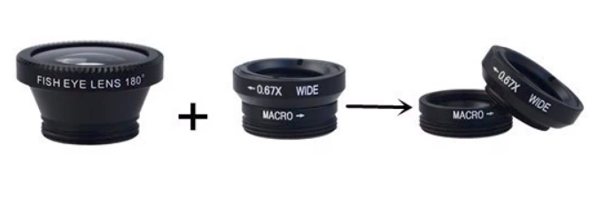 Macro Mobile  phone Lens Kit for all  Mobiles