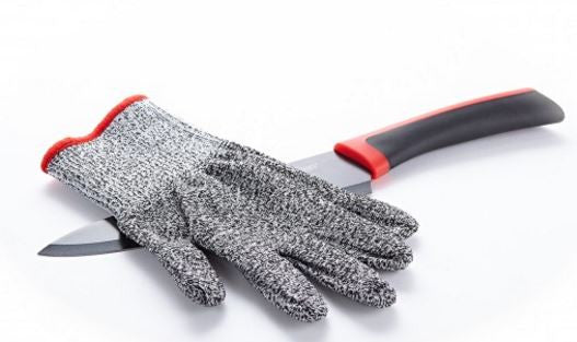 Provides highest level of protection from knives (Cut Resistant Glove)