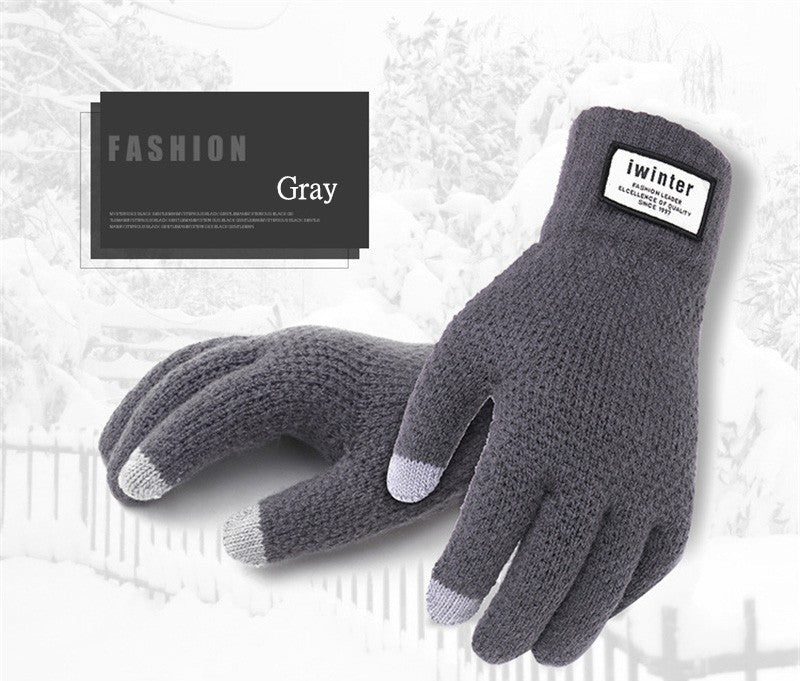 Touch Screen Gloves with Bluetooth earphone in thumb