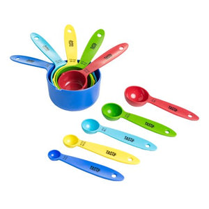 Imported Measuring Cup and Spoon 10 Pcs Set