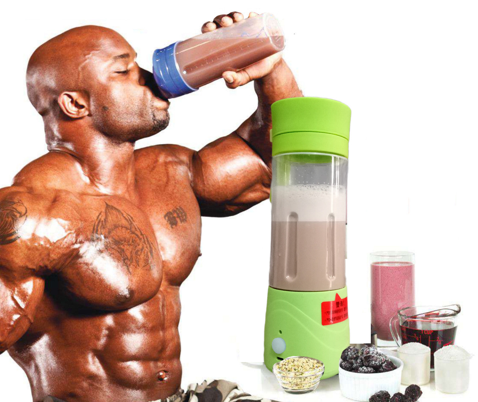 Portable USB Electric Protein Shaker