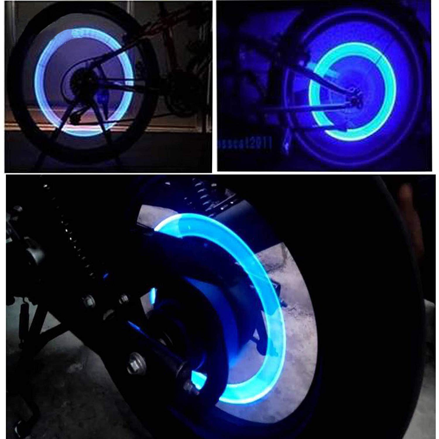 Bike or Car Tyre  LED Light With Motion Sensor Light