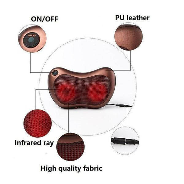 Cushion Full Body Massager With Heat For Pain Relief