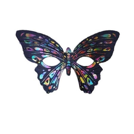 Rainbow Butterfly Party Mask