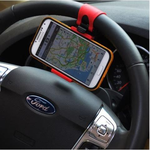 UNIVERSAL STEERING WHEEL PHONE CLIP